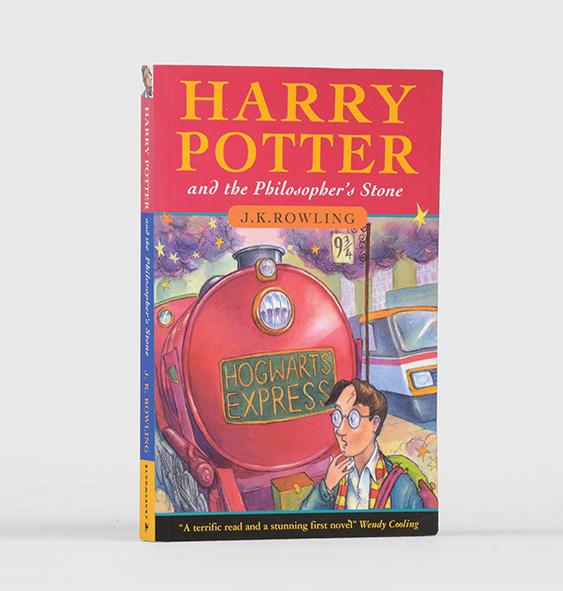Harry Potter First Edition Softcover Issue